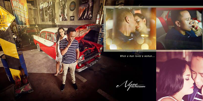 Ricky and Angel Bali Professional Pre Wedding Photography